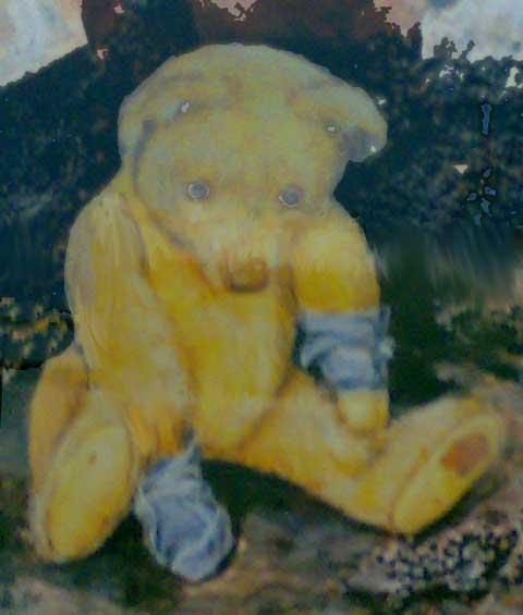 Gemälde mit Bär