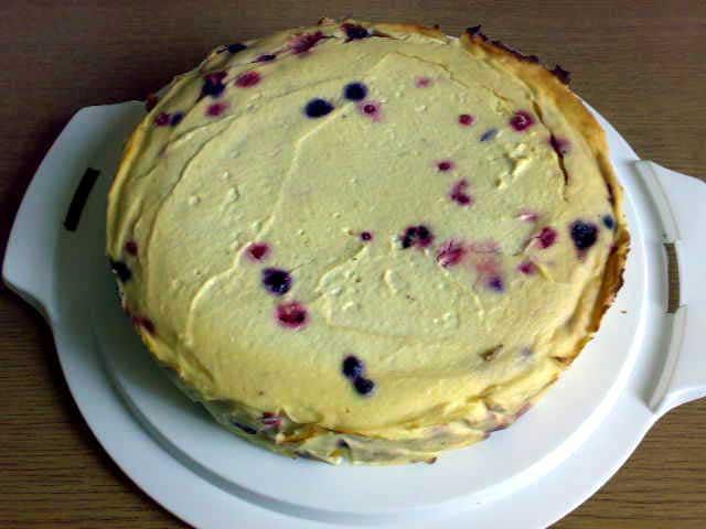 Schmaler Quarkkuchen