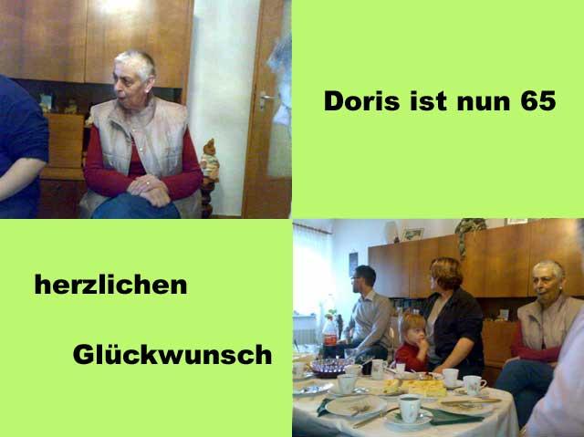 Doris Geburtstag