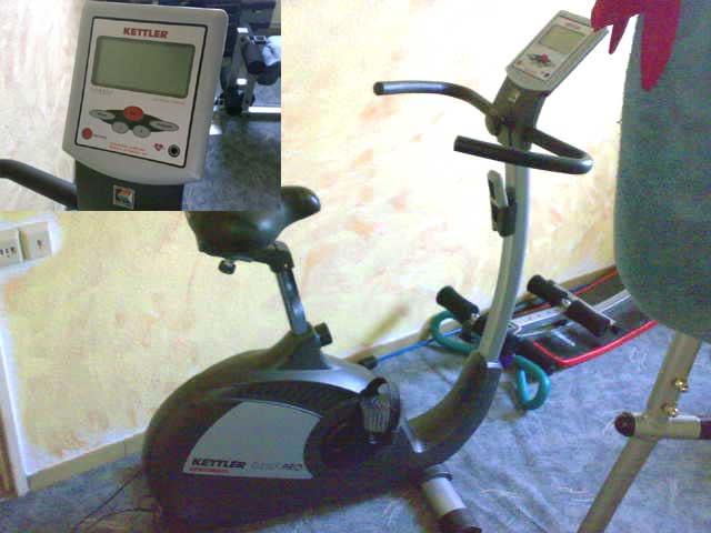 Reparatur Kettler Fahrrad-Ergometer
