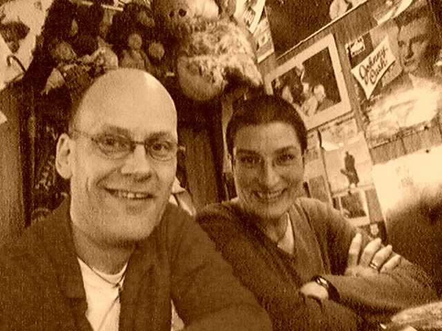 Lutz und Anja im Grill