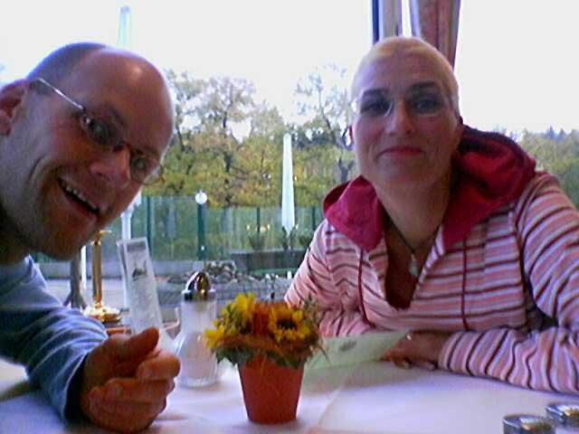 Anja und Lutz im BAB Hotel