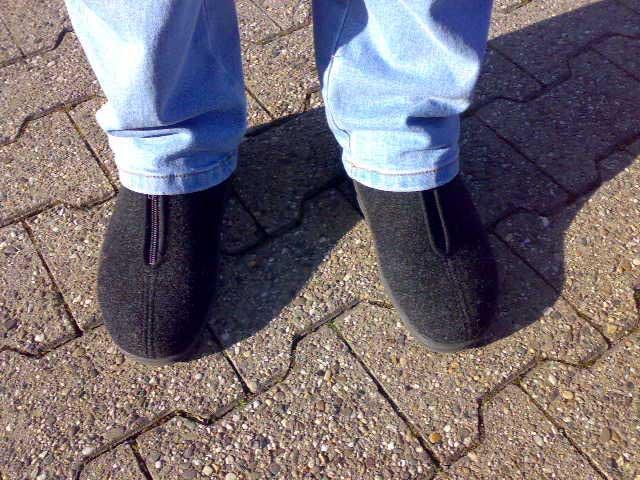 falsche Schuhe