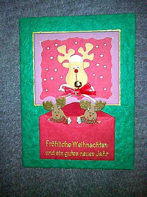 Weihnachtskarte von Stadtelch
