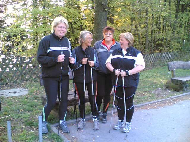 Brigitte, Bärbel, Christiane und Ulrike