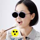 Diät-Blinden-Brille