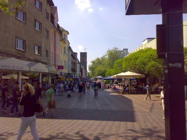 Fußgängerzone Wiesdorf
