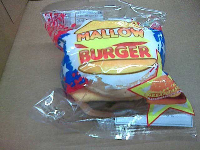 Burger Marshmallow