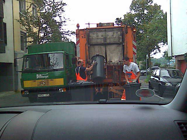 Müllwagen 2