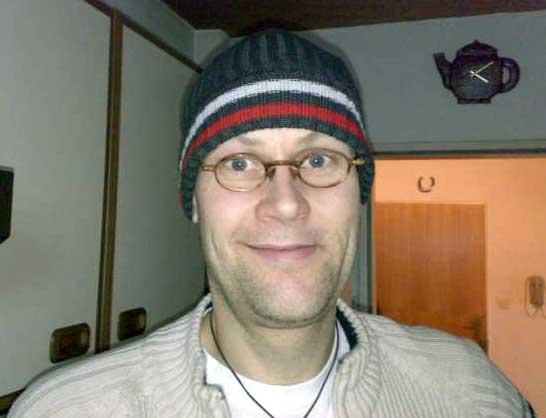 Lutz mit Mütze