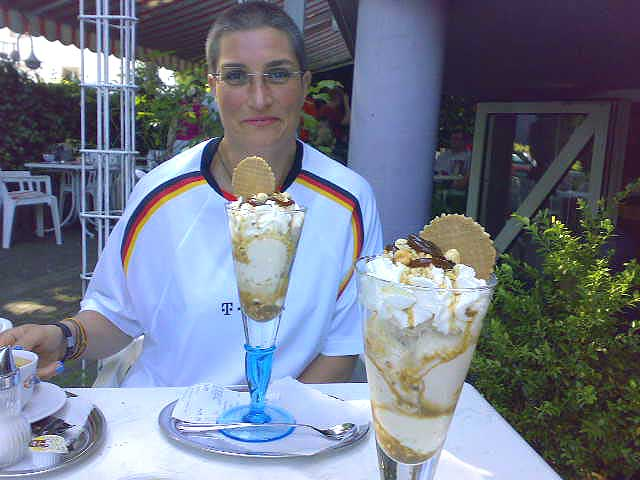 Anja und Eis