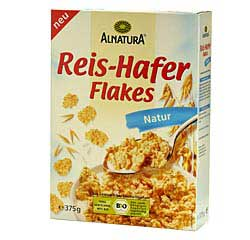 Reis-Hafer-Flakes